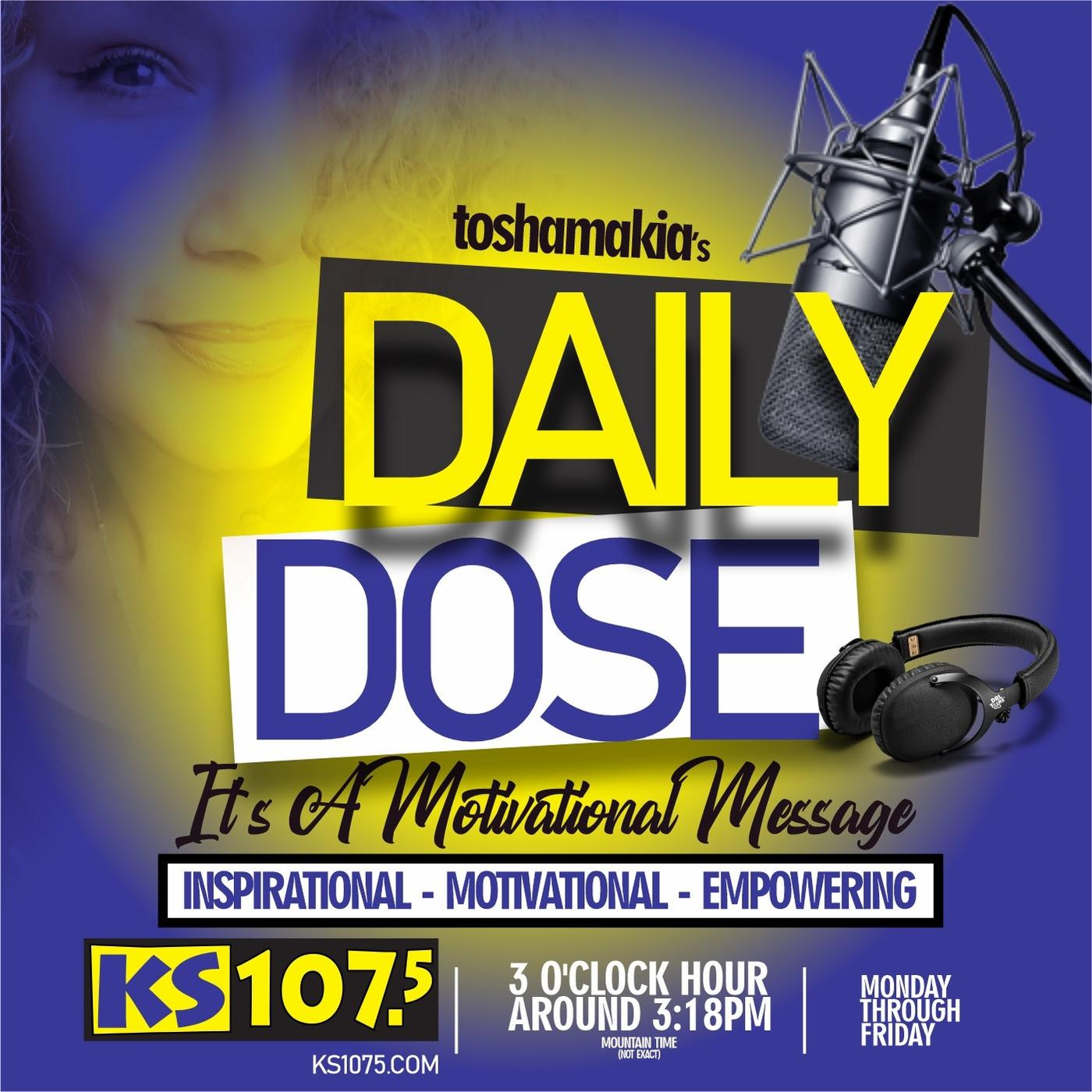 Daily Dose with Toshamakia Podcast
