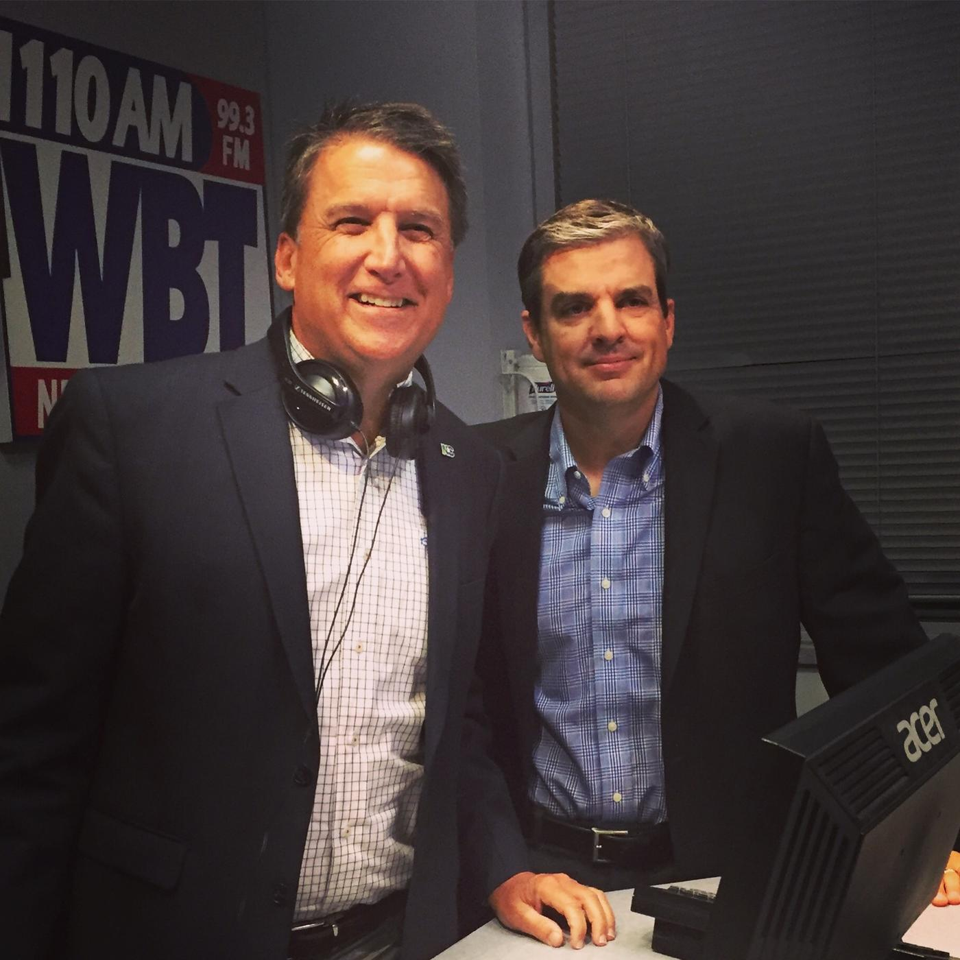 The Pat McCrory Show with Bo Thompson