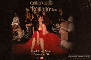 Camila Cabello at Capital One Arena