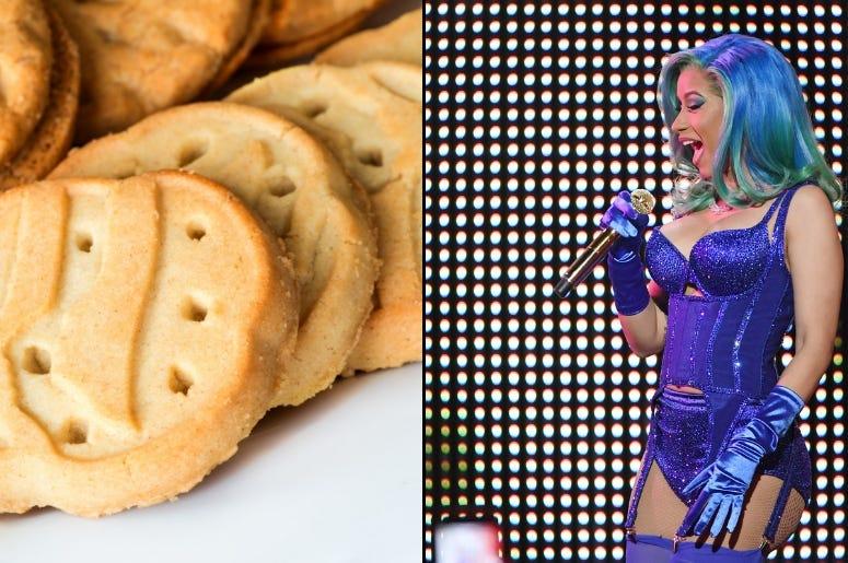 Girl Scout Cookies x Cardi B