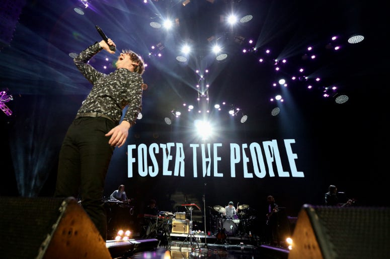 Foster the People Perform at the KROQ Almost Acoustic Christmas Show in L.A.