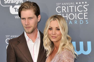 Kaley Cuoco & Karl Cook