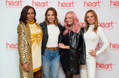 Spice Girls (left to right) Melanie Brown, Melanie Chisholm, Emma Bunton and Geri Horner