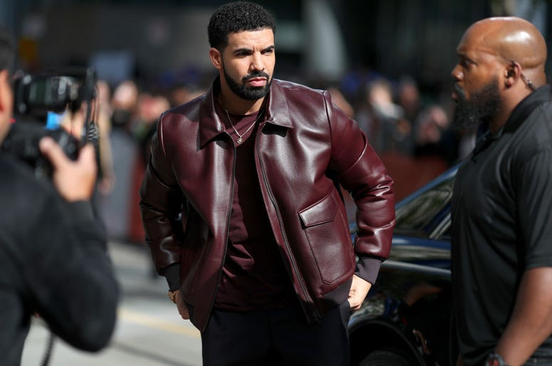 Drake at Toronto International Film Festival