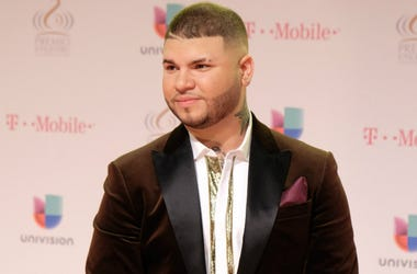 Puerto Rican singer Farruko attends to Univision's 28th Edition of Premio Lo Nuestro A La Musica Latina at the American Airlines Arena in Miami, US, 18 February 2016.