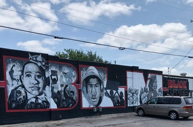 BLM Mural in Wichita, Kansas