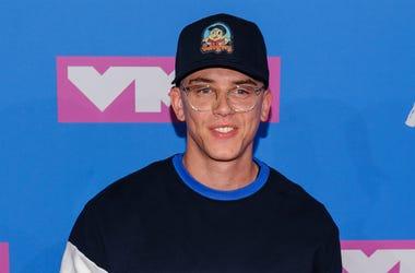 20 August 2018 - New York, New York - Logic. 2018 MTV Video Music Awards at Radio City Music Hall.