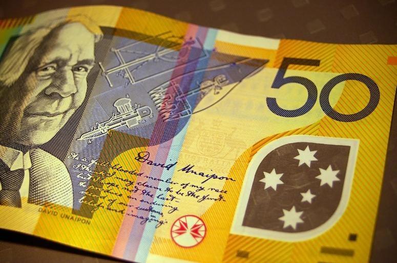 An Australian $50 bill