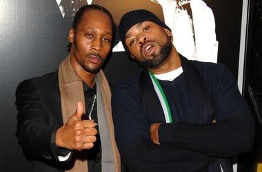 Rza and Method Man of Wu-Tang Clan