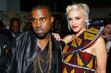 NEW YORK - SEPTEMBER 16: Kanye West and Gwen Stefani attend the L.A.M.B. Spring 2011 fashion show after party during Mercedes-Benz Fashion Week at Private Location on September 16, 2010 in New York City. (Photo by Andy Kropa/Getty Images)