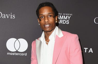 BEVERLY HILLS, CA - FEBRUARY 09: A$AP Rocky attends The Recording Academy And Clive Davis' 2019 Pre-GRAMMY Gala at The Beverly Hilton Hotel on February 9, 2019 in Beverly Hills, California. (Photo by Jon Kopaloff/Getty Images)