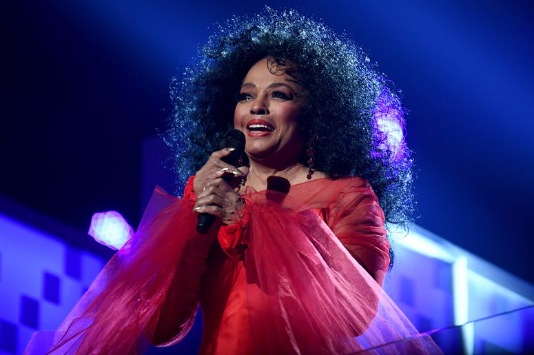 LOS ANGELES, CA - FEBRUARY 10: Diana Ross perorms onstage during the 61st Annual GRAMMY Awards at Staples Center on February 10, 2019 in Los Angeles, California. (Photo by Emma McIntyre/Getty Images for The Recording Academy)