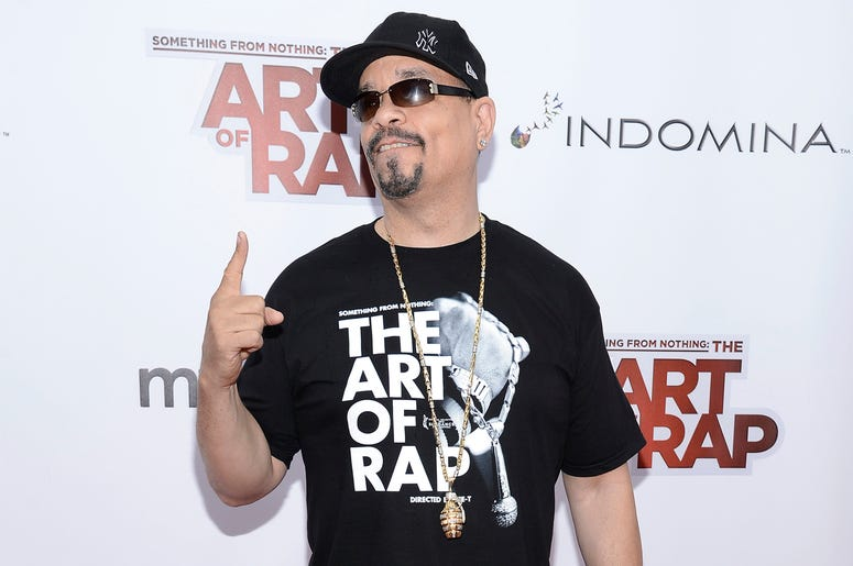 12 June 2012 - New York -Ice-T attends the 'Something From Nothing: The Art Of Rap' New York Screening at Alice Tully Hall, Lincoln Center on June 12, 2012 in New York, NY. Photo Credit: Anthony Behar/Sipa USA