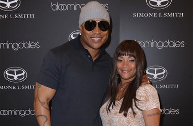 CENTURY CITY, CA - MAY 12: Actor LL Cool J and designer Simone I. Smith attend a personal appearance by Simone I. Smith at Bloomingdale's on May 12, 2011 in Century City, California. (Photo by Alberto E. Rodriguez/Getty Images For Bloomingdale's)