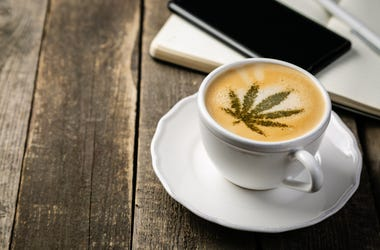 Cannabis, Coffee, Cup, Cafe (Photo credit: a_namenko/Getty Images)