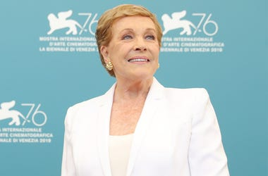VENICE, ITALY - SEPTEMBER 03: Dame Julie Andrews attends the Golden Lion for Lifetime Achievement photocall during the 76th Venice Film Festival on September 03, 2019 in Venice, Italy. (Photo by Vittorio Zunino Celotto/Getty Images)