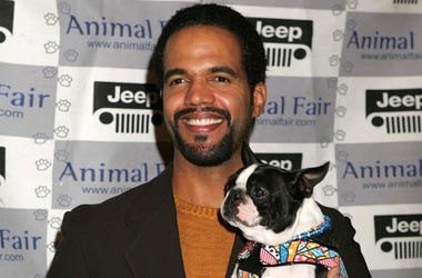 KRT ENTERTAINMENT STAND ALONE PHOTO SLUGGED: YAPPYHOUR KRT PHOTOGRAPH BY BAXTER/ABACA PRESS (November 10) Kristoff St. John at the Jeep Yappy Hour and Fabreze Pet Fashion Show at Century Plaza Hotel, Century City, California, November 9, 2004. (Photo by l