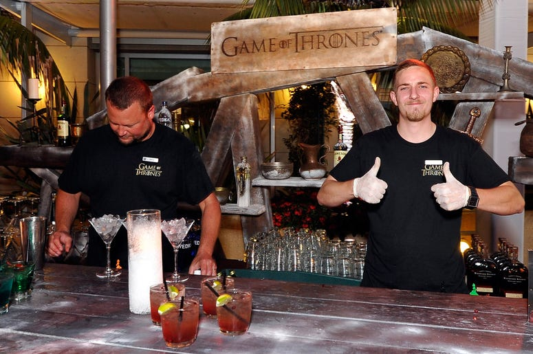 SAN DIEGO, CA - JULY 13: A general view of atmosphere is seen during the 'Game Of Thrones' HBO celebration party inside the WIRED Cafe at Palm Terrace At The Omni Hotel during Comic-Con International 2012 on July 13, 2012 in San Diego, California. (Photo