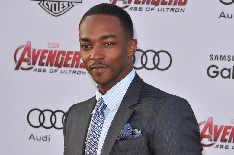 "Anthony Mackie arrives at the Marvel's ""Avengers: Age Of Ultron"" Los Angeles Premiere held at the Dolby Theatre in Hollywood, CA on Monday, April 13, 2015. (Photo By Sthanlee B. Mirador)"