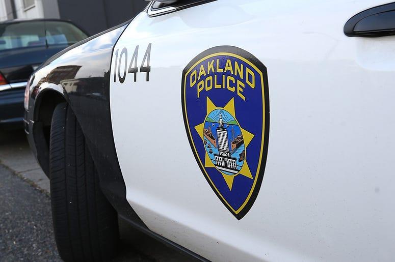Oakland Police Vehicle