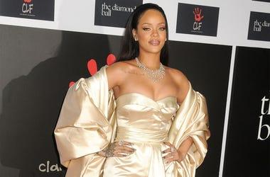 10 December 2015 - Santa Monica, California - Rihanna. 2nd Annual Diamond Ball held at Barker Hangar. Photo Credit: Byron Purvis/AdMedia