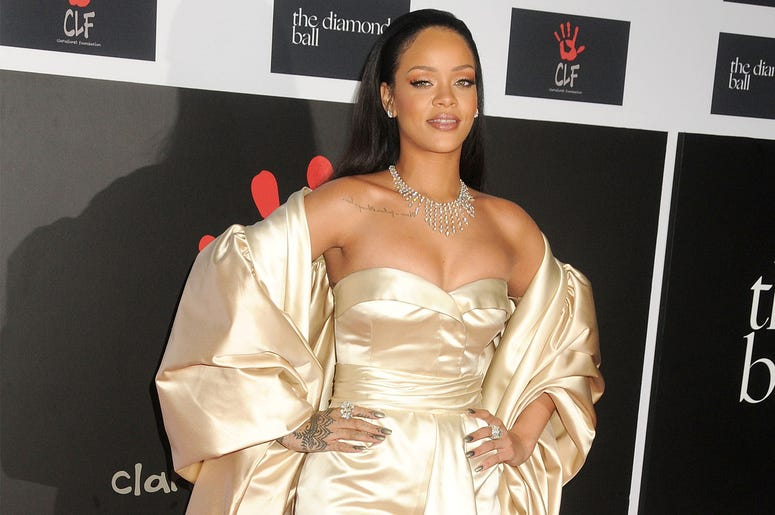 10 December 2015 - Santa Monica, California - Rihanna. 2nd Annual Diamond Ball held at Barker Hangar. Photo Credit: Byron Purvis/AdMedia