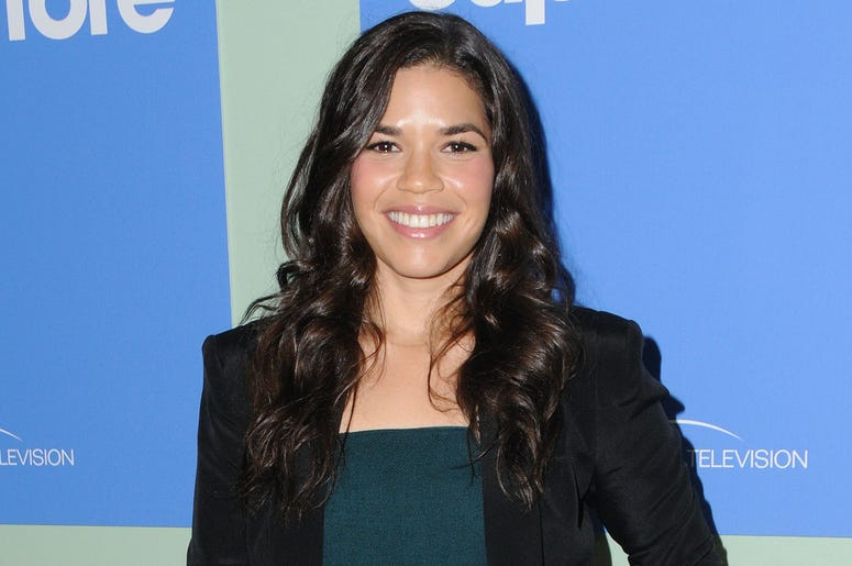 """07 June 2016 - Hollywood. America Ferrera. Arrivals for NBC's """"Superstore"""" FYC @ UBC comedy panel series held at the UCB Sunset Theater. Photo Credit: Birdie Thompson/AdMedia"""