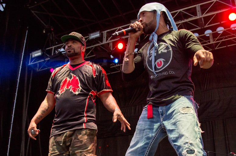 Method Man (Clifford Smith) and Redman (Reggie Noble) at Douglas Park during Riot Fest Music Festival on September 17, 2016, in Chicago, Illinois (Photo by Daniel DeSlover/imageSPACE)