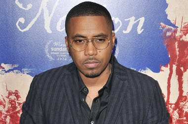 "Nas arrives at ""The Birth Of A Nation"" Los Angeles Premiere held at the Cinerama Dome in Los Angeles, CA on Wednesday, September 21, 2016. (Photo By Sthanlee B. Mirador)"