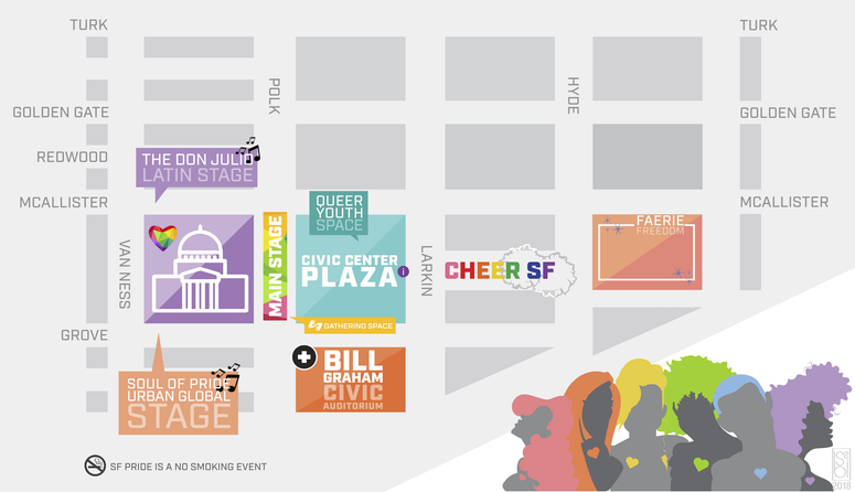 SF Pride Map 2019