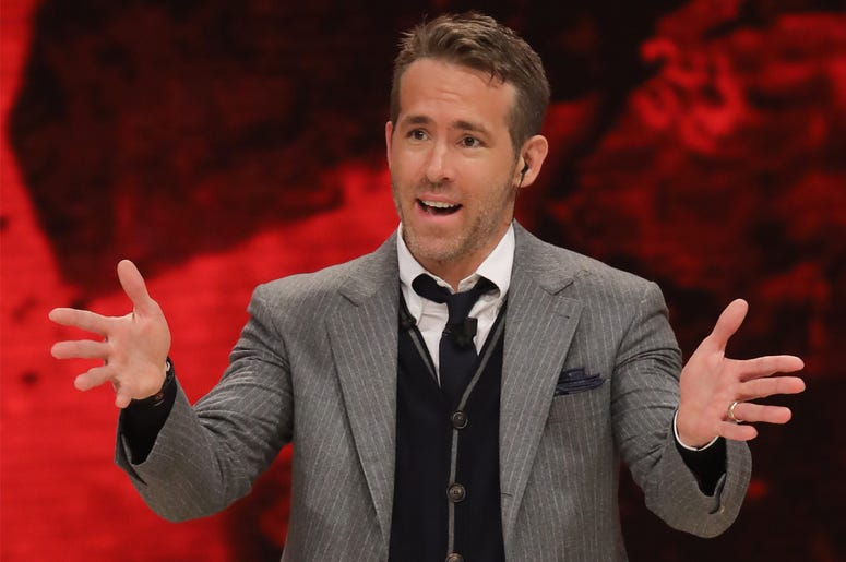 """5/5/2018 - Rome, Josh Brolin and Ryan Reynolds guests of the TV show """"Dancing with the Stars"""". Pictured: Ryan Reynolds (Photo by PA Images/Sipa USA)"""