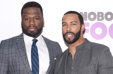 "(L-R) Curtis '50 Cent' Jackson and Omari Hardwick attend ""Nobody's Fool"" New York Premiere at the AMC Lincoln Square Cinemas in New York, NY, on October 28, 2018. (Photo by Anthony Behar/Sipa USA)"