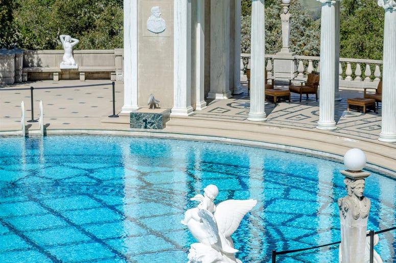 Neptune Pool Hearts Castle, San Simeon, California (Photo credit: Sami Huurresalo)