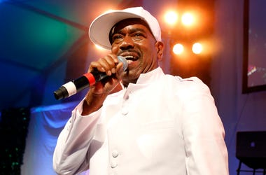 WATER MILL, NY - JULY 26: Rapper Kurtis Blow performs on stage at the 15th annual Art for Life Gala hosted by Russell and Danny Simmons at Fairview Farms on July 26, 2014 in Water Mill, New York. (Photo by Brian Ach/Getty Images for Art For Life Gala)