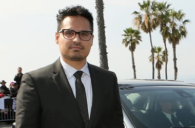 SANTA MONICA, CA - FEBRUARY 21: Actor Michael Pena arrives with a Lincoln during the 30th Annual Film Independent Spirit Awards at Santa Monica Beach on February 21, 2015 in Santa Monica, California. The Lincoln Motor Company was onsite to celebrate the b