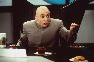 Mike Meyers Stars As Dr Evil In Austin Powers: The Spy Who Shagged Me Photo New Line C 6/10/99 Mike Meyers Stars As 'Dr. Evil' In 'Austin Powers: The Spy Who Shagged Me.' (Photo By Getty Images)