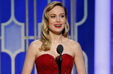 Jan 8, 2017; Beverly Hills, CA, USA; Brie Larson presents during the 74th Golden Globe Awards at Beverly Hilton. Mandatory Credit: Paul Drinkwater/NBC via USA TODAY NETWORK