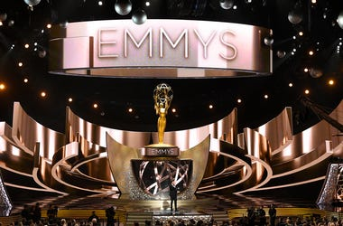 This Sept. 18, 2016 file photo shows the main stage during the 68th Primetime Emmy Awards in Los Angeles. (Photo by Chris Pizzello/Invision/AP, File)