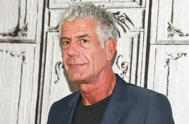 "In this Nov. 2, 2016, file photo, Anthony Bourdain participates in the BUILD Speaker Series to discuss the online film series ""Raw Craft"" at AOL Studios in New York. Bourdain has been found dead in his hotel room in France, Friday, June 8, 2018, while wor"