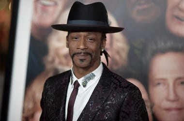 """In this Dec. 13, 2017, file photo, Katt Williams attends the LA Premiere of """"Father Figures"""" in Los Angeles. Williams was arrested on suspicion of assaulting a driver. Williams is in jail Sunday, Oct, 7, 2018. He had come to Portland to perform in Nick Ca"""