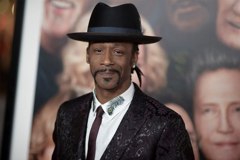"In this Dec. 13, 2017, file photo, Katt Williams attends the LA Premiere of ""Father Figures"" in Los Angeles. Williams was arrested on suspicion of assaulting a driver. Williams is in jail Sunday, Oct, 7, 2018. He had come to Portland to perform in Nick Ca"