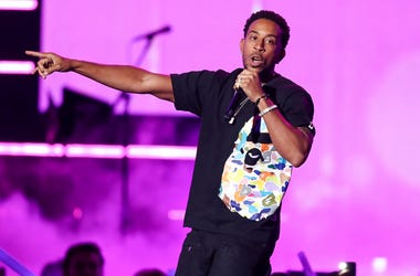 In this Sept. 21, 2018, file photo Ludacris performs at the 2018 iHeartRadio Music Festival Day 1 held at T-Mobile Arena in Las Vegas. Ludacris and Migos will represent Atlanta and hip-hop culture when they perform at the EA SPORTS BOWL days before the Su