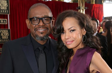 In this Saturday, Jan. 18, 2014, file photo, Forest Whitaker, left, and Keisha Nash-Whitaker arrive at the 20th annual Screen Actors Guild Awards at the Shrine Auditorium in Los Angeles. Forest Whitaker has filed for divorce from his wife of 22 years, Kei