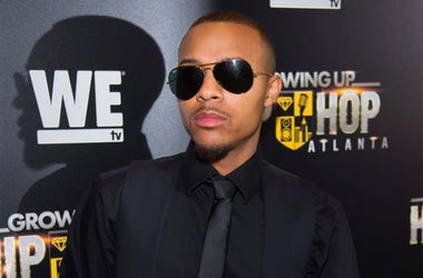 "In this May 16, 2017 file photo, Rapper Shad Moss, aka Bow Wow, attends WE TV's ""Growing Up Hip Hop Atlanta"" premiere screening at iPic Theaters in New York. Atlanta police say that the rapper was arrested early Saturday, Feb. 2, 2019, following a fight w"