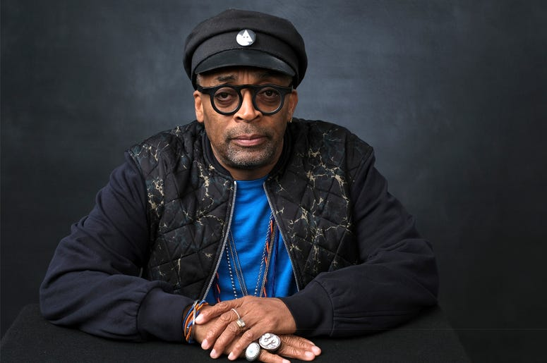 Spike Lee poses for a portrait at the 91st Academy Awards Nominees Luncheon at The Beverly Hilton Hotel on Monday, Feb. 4, 2019, in Beverly Hills, Calif. (Photo by Chris Pizzello/Invision/AP)