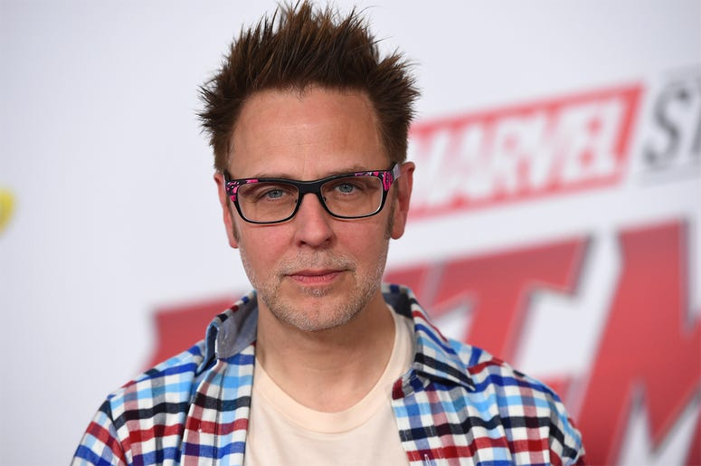 """This June 25, 2018 file photo shows James Gunn at the premiere of """"Ant-Man and the Wasp"""" in Los Angeles. (Photo by Jordan Strauss/Invision/AP, File)"""