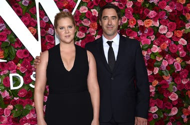 This June 10, 2018 file photo shows Amy Schumer, left, and Chris Fischer at the 72nd annual Tony Awards in New York.  (Photo by Evan Agostini/Invision/AP, File)
