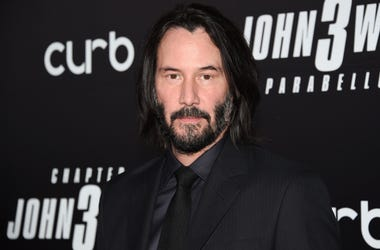"""In this May 9, 2019 file photo, actor Keanu Reeves attends the world premiere of """"John Wick: Chapter 3 - Parabellum"""" at One Hanson in New York. (Photo by Evan Agostini/Invision/AP, File)"""
