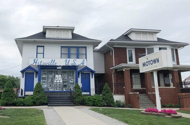 This June 9, 2019, file photo, shows the exterior of the Motown Museum in Detroit. (AP Photo/Roger Schneider, File)