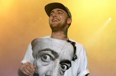 In this July 13, 2013, file photo, rapper Mac Miller performs on his Space Migration Tour in Philadelphia. (Photo by Owen Sweeney/Invision/AP, File)